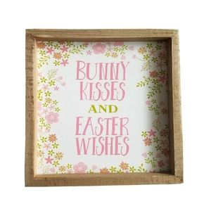 Three Girls & a Wish Accents - 🆕🥚Three Girls & a Wish Bunny Easter Box Sign
